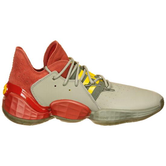 Harden Vol. 4 Basketballschuh Herren, rot / grün, zoom bei OUTFITTER Online