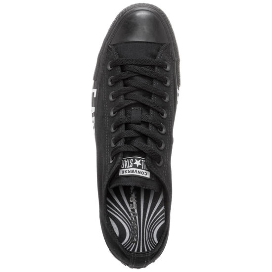 Chuck Taylor All Star OX Sneaker Herren, schwarz / weiß, zoom bei OUTFITTER Online