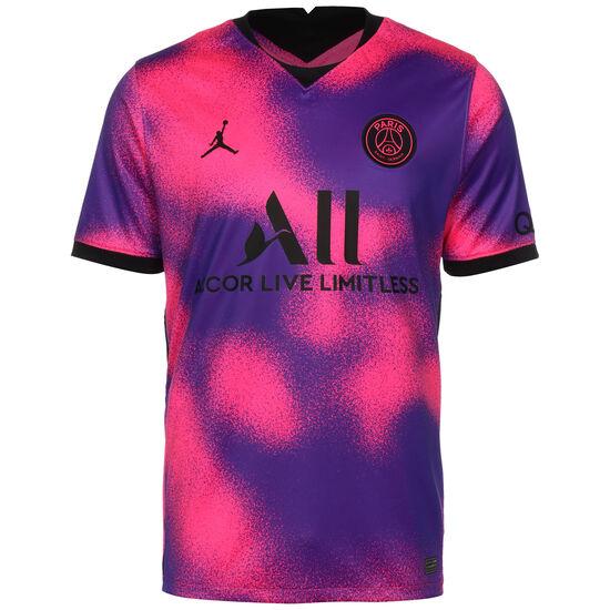 Paris St.-Germain Trikot 4th Stadium 2020/2021 Herren, pink / lila, zoom bei OUTFITTER Online