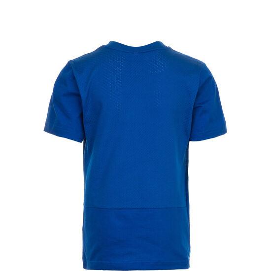 Sport ID Trainingsshirt Kinder, blau / weiß, zoom bei OUTFITTER Online