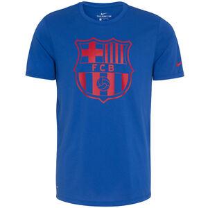 FC Barcelona Dry Crest T-Shirt Herren, Blau, zoom bei OUTFITTER Online