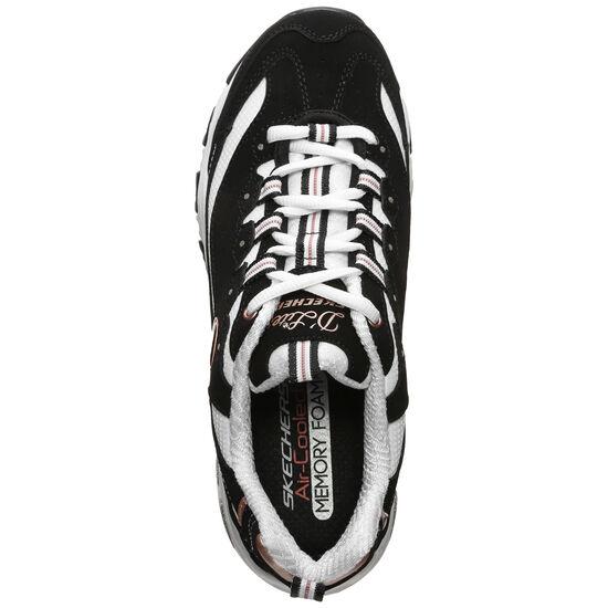D'Lites Devoted Fan Sneaker Damen, schwarz / weiß, zoom bei OUTFITTER Online