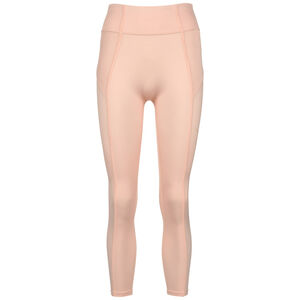 Studio Ribbed 7/8 Trainingstight Damen, apricot, zoom bei OUTFITTER Online