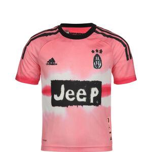 Juventus Turin Human Race FC Trikot Kinder, rosa / schwarz, zoom bei OUTFITTER Online