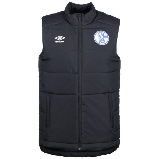FC Schalke 04 Padded Weste Herren, schwarz, zoom bei OUTFITTER Online