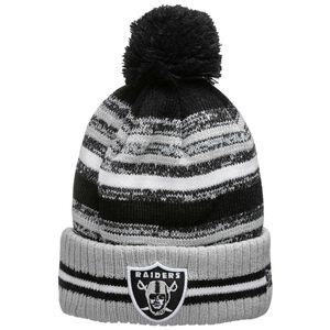 NFL Las Vegas Raiders Sideline Bobble Knit Mütze, , zoom bei OUTFITTER Online