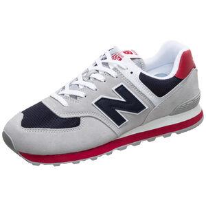 ML574-D Sneaker Herren, grau / rot, zoom bei OUTFITTER Online