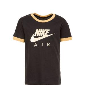Air Logo Ringer T-Shirt Kinder, schwarz / gold, zoom bei OUTFITTER Online