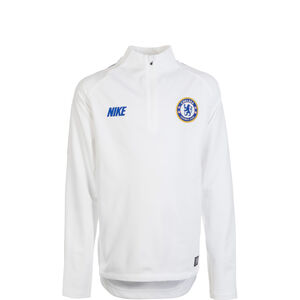 FC Chelsea Dry Squad Drill Trainingsshirt Kinder, weiß / blau, zoom bei OUTFITTER Online