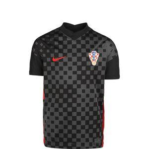 Kroatien Trikot Away Stadium EM 2021 Kinder, anthrazit / schwarz, zoom bei OUTFITTER Online