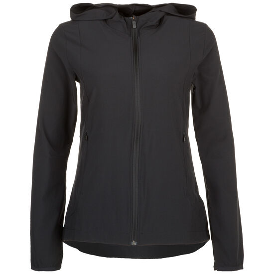 Badge Of Sport Woven Trainingsjacke Damen, schwarz, zoom bei OUTFITTER Online
