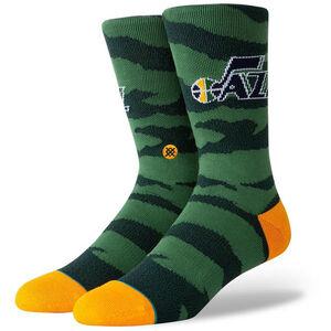 NBA Jazz Camo Socken Herren, , zoom bei OUTFITTER Online