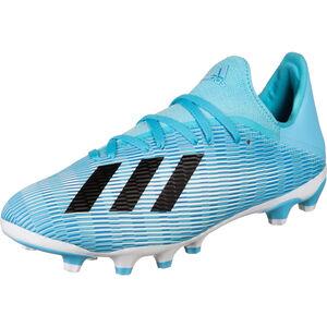 X 19.3 MG Fußballschuh Herren, hellblau / schwarz, zoom bei OUTFITTER Online