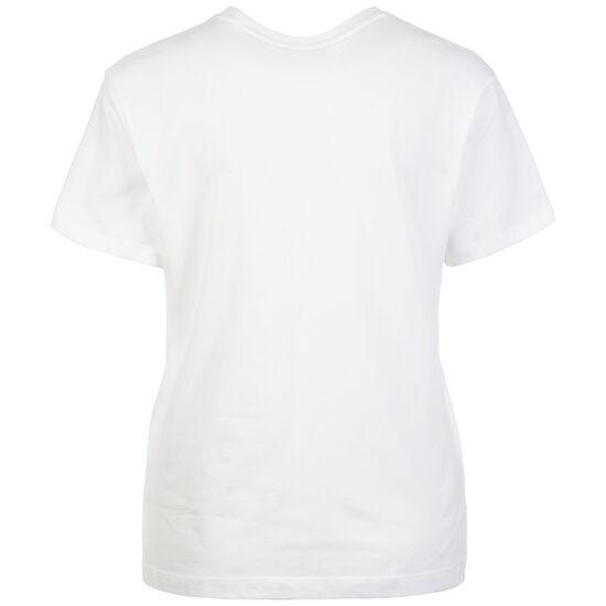 Classics Logo T-Shirt Damen, weiß / pink, zoom bei OUTFITTER Online