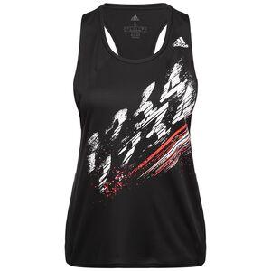 Speed Lauftank Damen, schwarz / weiß, zoom bei OUTFITTER Online