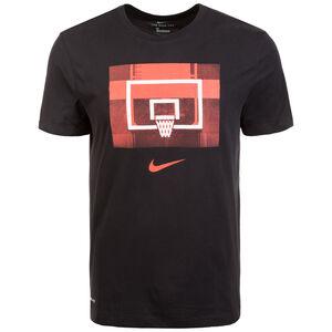 Backboard Basketballshirt Herren, schwarz, zoom bei OUTFITTER Online