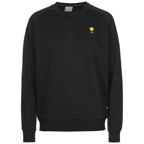 Borussia Dortmund FtblFEAT Game Sweatshirt Herren, schwarz / gelb, zoom bei OUTFITTER Online