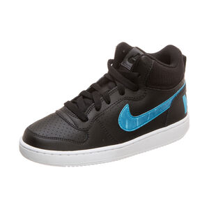 Court Borough Mid Sneaker Kinder, schwarz, zoom bei OUTFITTER Online
