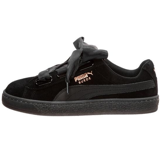 Suede Heart Artica Sneaker Damen, schwarz, zoom bei OUTFITTER Online