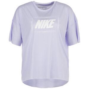 Dry Oversized Graphic Trainingsshirt Damen, flieder / weiß, zoom bei OUTFITTER Online