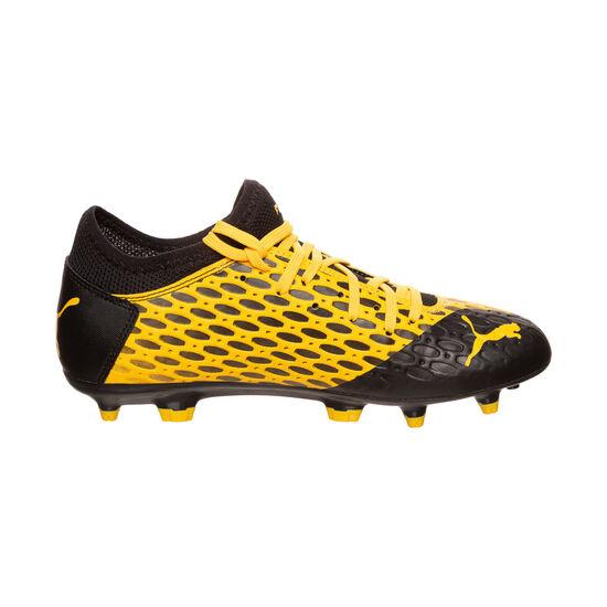 Future 5.4 FG/AG Fußballschuh Kinder, gelb / schwarz, zoom bei OUTFITTER Online