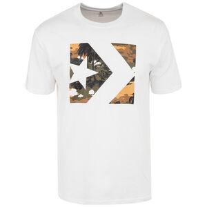 Star Chevron Camo Print Box T-Shirt Herren, weiß, zoom bei OUTFITTER Online