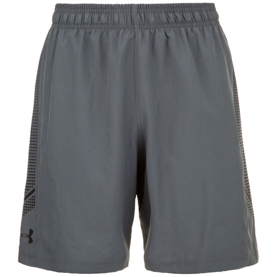 Woven Graphic Trainingsshorts Herren, grau, zoom bei OUTFITTER Online