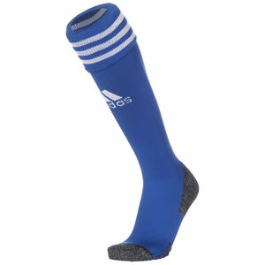 Adi Sock 21 Sockenstutzen, blau / weiß, zoom bei OUTFITTER Online