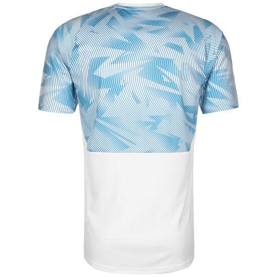 Olympique Marseille Trainingsshirt Herren, weiß / hellblau, zoom bei OUTFITTER Online