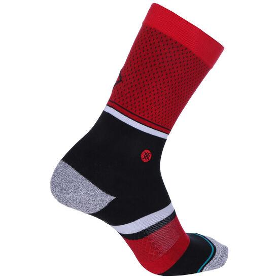 NBA Chicago Bulls Shortcut 2 Socken, dunkelrot / schwarz, zoom bei OUTFITTER Online