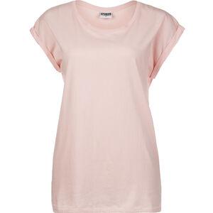 Extended Shoulder T-Shirt Damen, rosa, zoom bei OUTFITTER Online