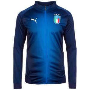 FIGC Italien Trainingsjacke WM 2018 Herren, Blau, zoom bei OUTFITTER Online