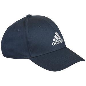 Baseball Strapback Cap, dunkelblau / weiß, zoom bei OUTFITTER Online