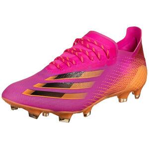 X Ghosted.1 FG Fußballschuh Herren, pink / orange, zoom bei OUTFITTER Online