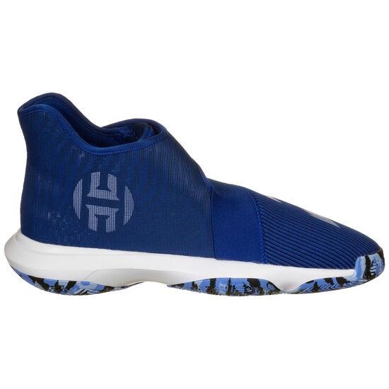 Harden B/E 3 Basketballschuh Herren, blau / weiß, zoom bei OUTFITTER Online