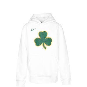 NBA City Edition Essentials Logo Hoodie Kinder, weiß / grün, zoom bei OUTFITTER Online