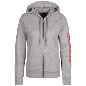 Essentials Linear Kapuzenjacke Damen, grau / pink, zoom bei OUTFITTER Online