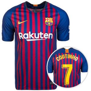 FC Barcelona Trikot Home Stadium Coutinho 2018/2019 Herren, Blau, zoom bei OUTFITTER Online