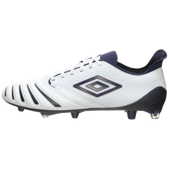UX Accuro III Pro FG Fußballschuh Herren, weiß / blau, zoom bei OUTFITTER Online