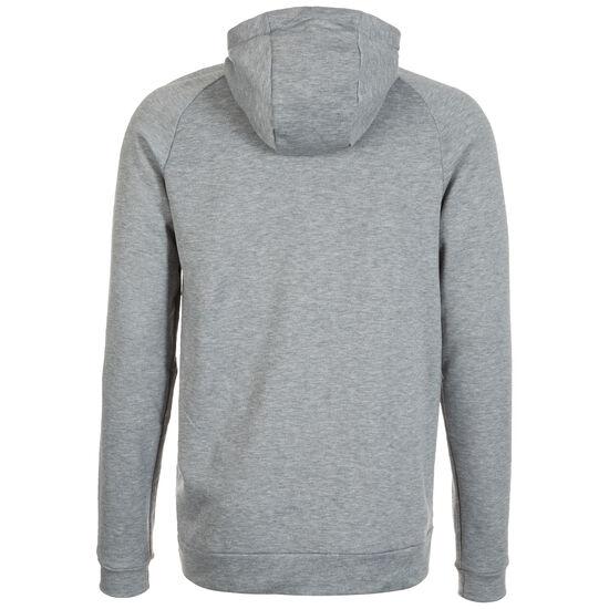 Dry Trainingskapuzenpullover Herren, grau / weiß, zoom bei OUTFITTER Online