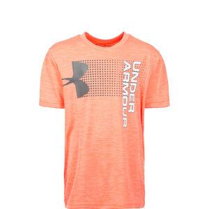 Crossfade Trainingsshirt Kinder, orange / weiß, zoom bei OUTFITTER Online