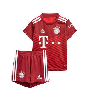 FC Bayern München Minikit Home 2021/2022 Babys, rot / weiß, zoom bei OUTFITTER Online