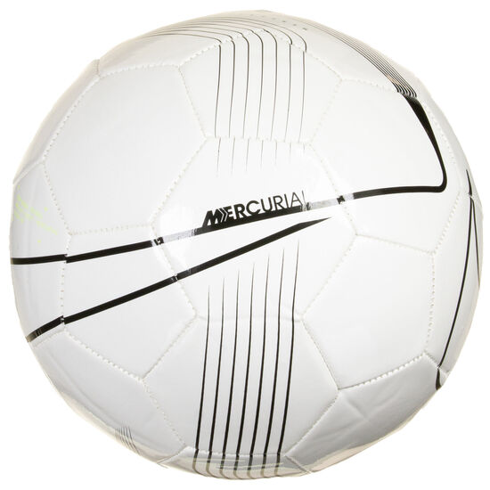 Mercurial Fade Fußball, weiß / schwarz, zoom bei OUTFITTER Online