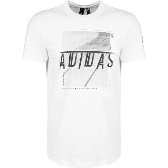 Must Haves 3 Stripes Foil T-Shirt Herren, weiß, zoom bei OUTFITTER Online