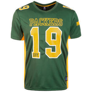 NFL Moro Poly Mesh Green Bay Packers T-Shirt Herren, grün / gelb, zoom bei OUTFITTER Online