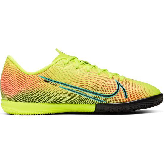 Mercurial Vapor 13 Academy MDS Indoor Fußballschuh Kinder, gelb / grün, zoom bei OUTFITTER Online