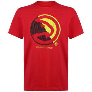 NBA Atlanta Hawks Dry Logo T-Shirt Herren, rot, zoom bei OUTFITTER Online