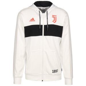 Juventus Turin Kapuzenjacke Herren, weiß / schwarz, zoom bei OUTFITTER Online