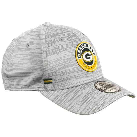 39THIRTY NFL Green Bay Packers On-Field Sideline Road Cap, grau / gelb, zoom bei OUTFITTER Online