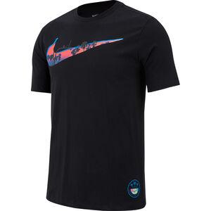 Dry Swoosh Trainingsshirt Herren, schwarz, zoom bei OUTFITTER Online